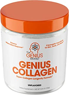 Collagen Peptides Powder - Hydrolyzed Collagen Protein Powder, Grass Fed for Hair Growth Skin Nails Joints; Post Workout H...