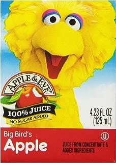 Apple & Eve Sesame Street Big Bird's Apple Juice 4.23 Fluid-oz., 40 Count