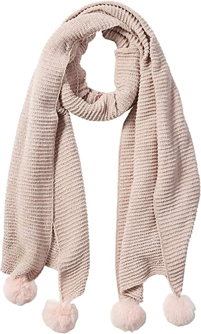 Tickled Pink womens Chenille Cozy Scarf