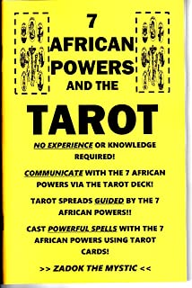 7 African Powers and the Tarot book Seven Orishas