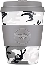 Reusable Sustainable To-Go Travel Coffee-Cup - Ecoffee Cup - Portable Natural Fiber Cups With No Leak Silicone Lid - Dishw...