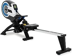 XTERRA Fitness ERG500 Air Turbine Rower, Silver/Black