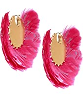 Kate Spade New York - In Full Feather Hoops