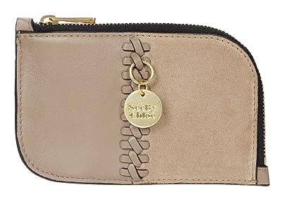 See by Chloe Tilda Compact Wallet (Motty Grey) Wallet Handbags