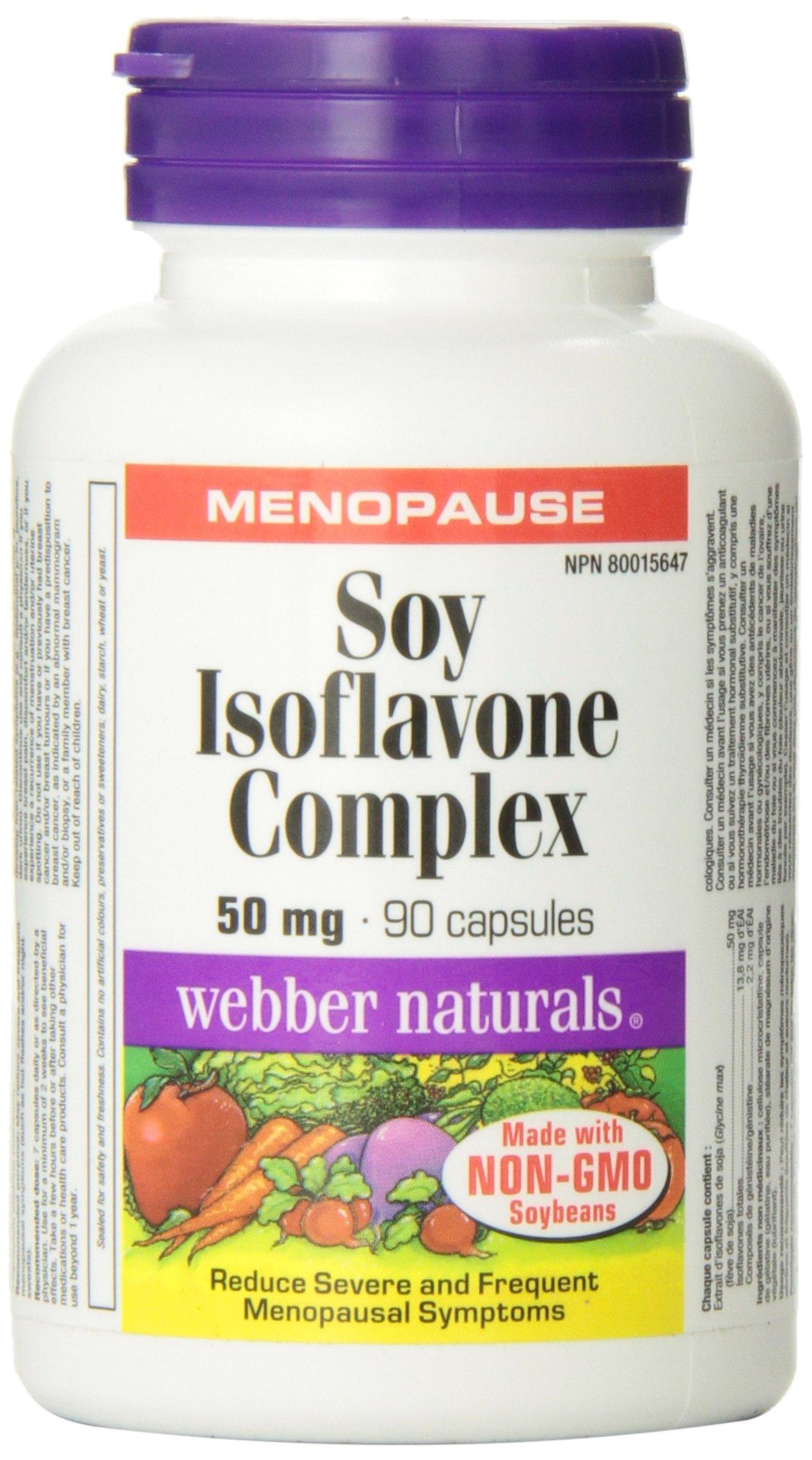 WEBBER NATURALS Isoflavones 50mg Capsules