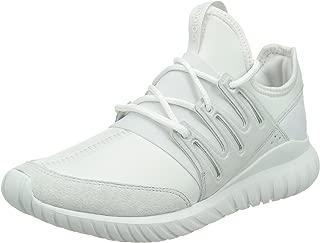 Unisex Adults' Tubular Radial Low-Top Sneakers, White (Crystal White/Crystal White/Crystal White), 8.5 UK 42 2/3 EU