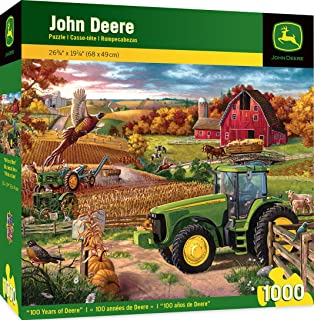 MasterPieces John Deere 100 Years of Deere - Model 8320 Series Tractor 1000 Piece Jigsaw Puzzle by Charles Freitag