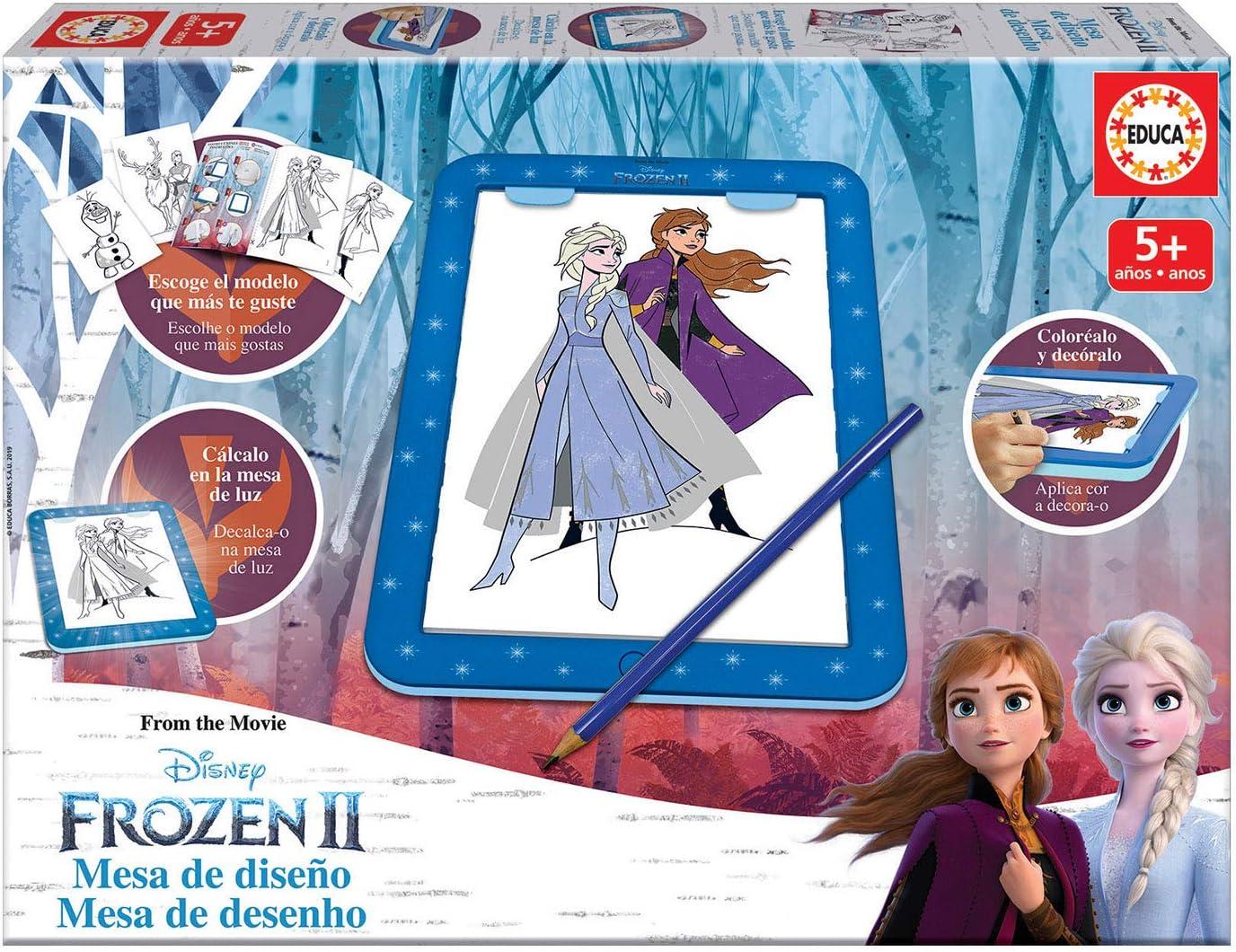 Educa - Frozen II Mesa de Diseño, Multicolor (18369)