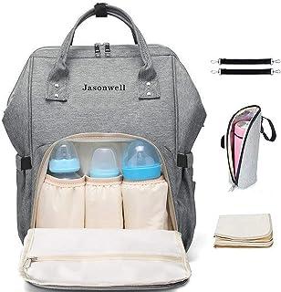 Jasonwell Mochila Pañalera Moderna Pañalera Backpack Multi
