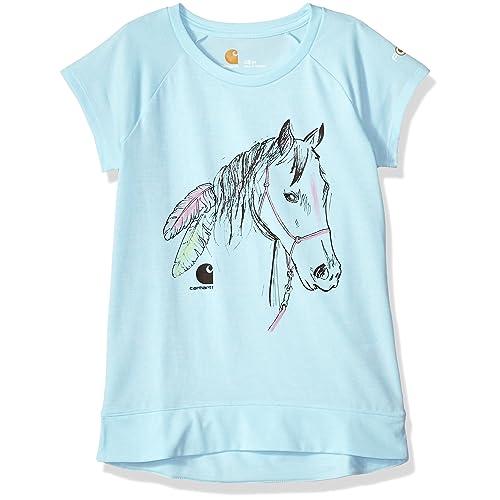 48606f6c5 Carhartt Girls' Short Sleeve Force Tee