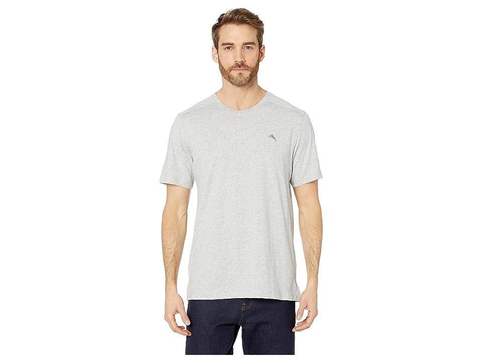 a4914524f1b17 Tommy Bahama Cotton Modal Knit Jersey T-Shirt (Heather Grey) Men