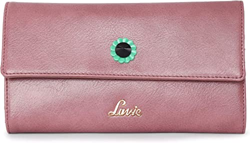 Halley XL Tri Fold 2 Women s Wallet D Pink