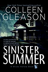 Sinister Summer: A Ghost Story Romance & Mystery (Wicks Hollow Book 1) Kindle Edition