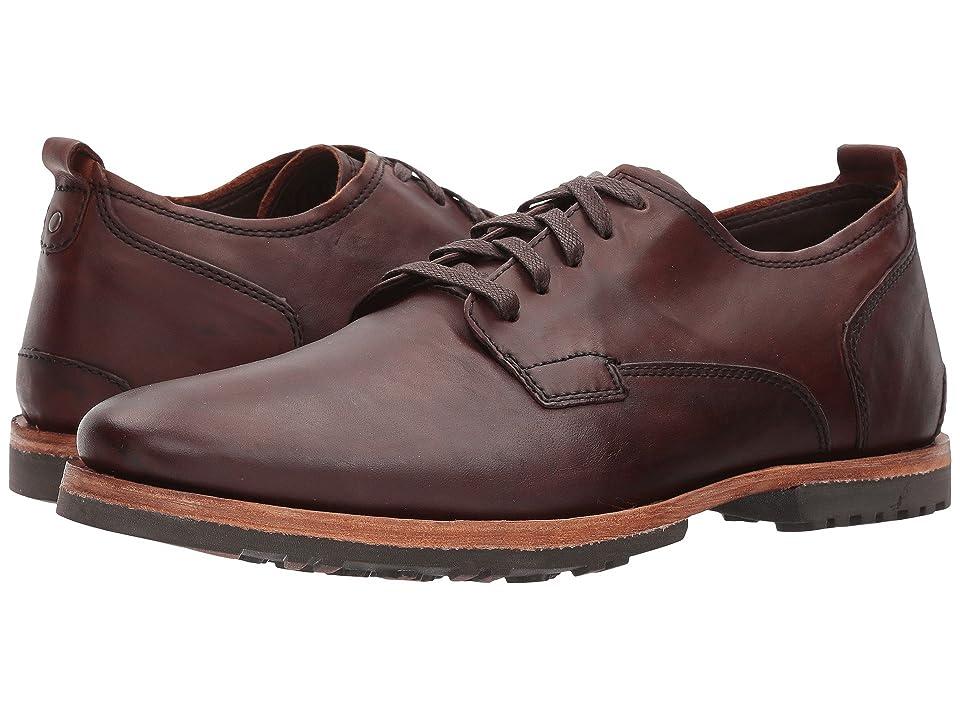 Timberland Boot Company Bardstown Plain Toe Oxford (Puce Stampede Full Grain) Men