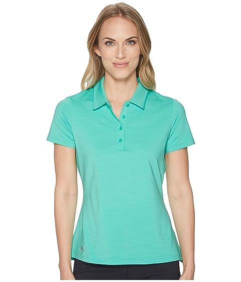 ADIDAS GOLF Ultimate Short Sleeve Polo, Hi-Res Green