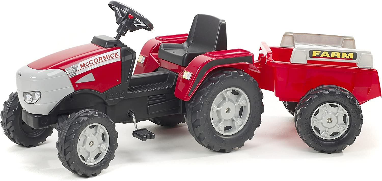 Falk McCormick Pedal Traktor Mit Abhngbarem Anhnger - Alter 3 - 7 Jahre