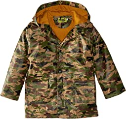 Western Chief Kids - Camo Rain Coat (Toddler/Little Kids)