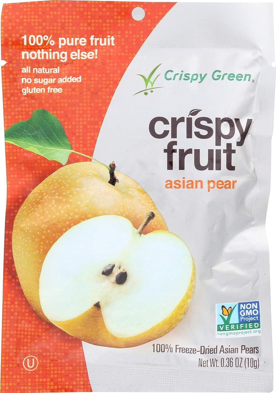 Crockery Ranking TOP13 Gourmet Crispy Green Freeze Dried 0.36 oz Pear online shopping