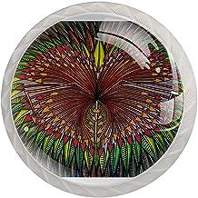 Lade handgrepen trekken ronde kristallen glazen kast knoppen keuken kast handvat,patroon