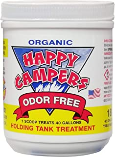 Happy Campers Organic RV Holding Tank Treatment – 18 treatments