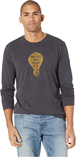 I Have Ideas Crusher Long Sleeve T-Shirt