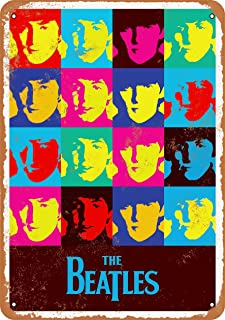 Wall-Color 7 x 10 Metal Sign - 1965 Beatles Record Store Poster - Vintage Look