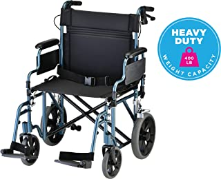 heavy duty folding manual wheelchair