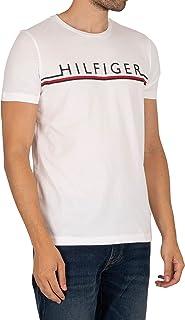 Tommy Hilfiger Herren Corp Stripe Tee T-Shirt