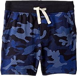 Camo Cotton Jersey Shorts (Toddler)