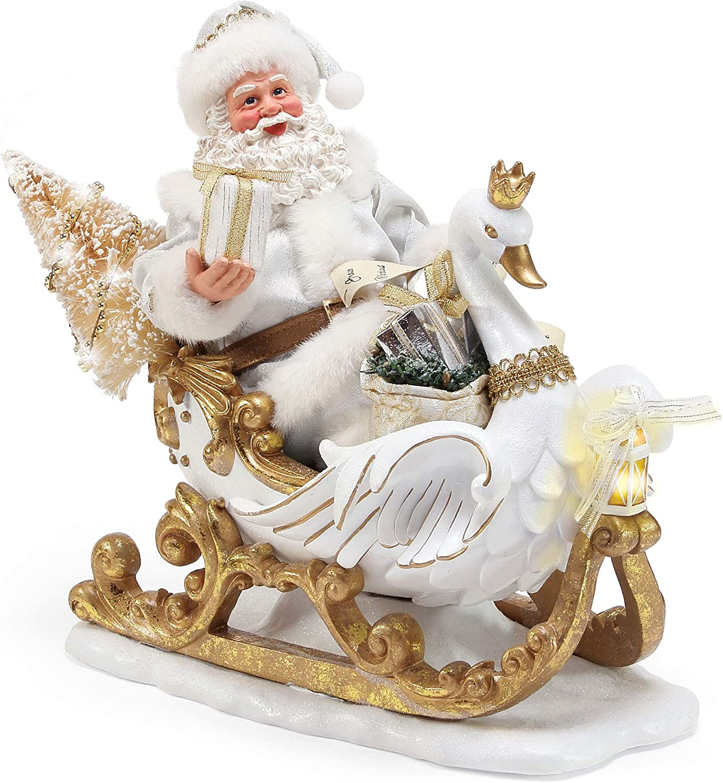 Department Max 71% OFF 56 Possible Dreams Baltimore Mall Christmas Figurine Santa's White