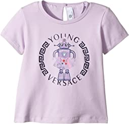 Versace Kids - Short Sleeve Robot Logo T-Shirt (Infant)
