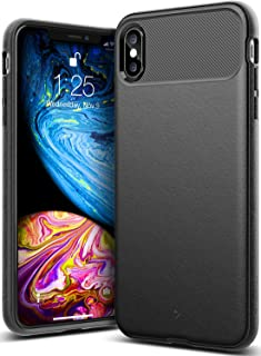 Caseology Vault for iPhone Xs Max Case (2018) - Rugged Matte Finish - Black