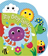 Itsy, Bitsy Spider-Filled with Colorful Illustrations and Friendly Characters, Interactive Tabs invite Children to Touch and Turn the Pages-Ages 12-36 Months (Heads, Tails & Noses)