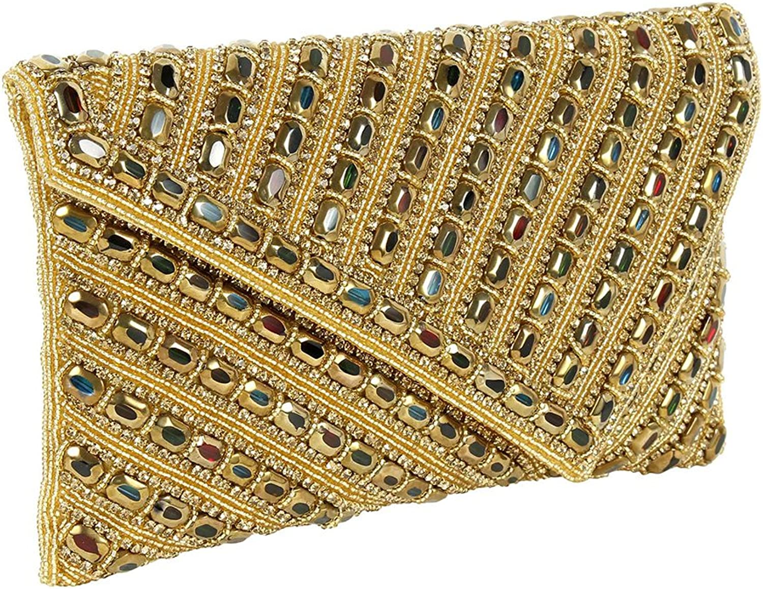 Purse Collection Multi Colour Most Beautiful Handmade Beaded Clutch Purses For Women's