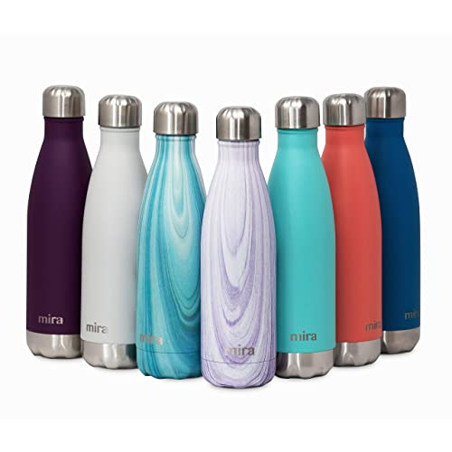 464d0102ca MIRA 17 Oz Stainless Steel Vacuum Insulated Water Bottle | Double Walled  Cola Shape Thermos
