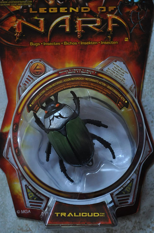 Legend of NEW Nara Battling Washington Mall Bugs Series 1 Figure Tralicud