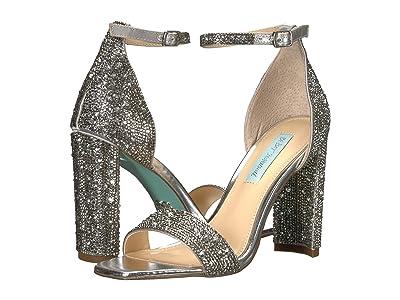 Blue by Betsey Johnson Rina (Silver) High Heels