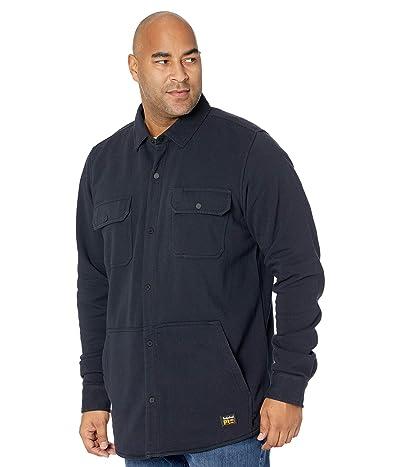 Timberland PRO Mill River Fleece Shirt Jacket Tall (Dark Navy) Men