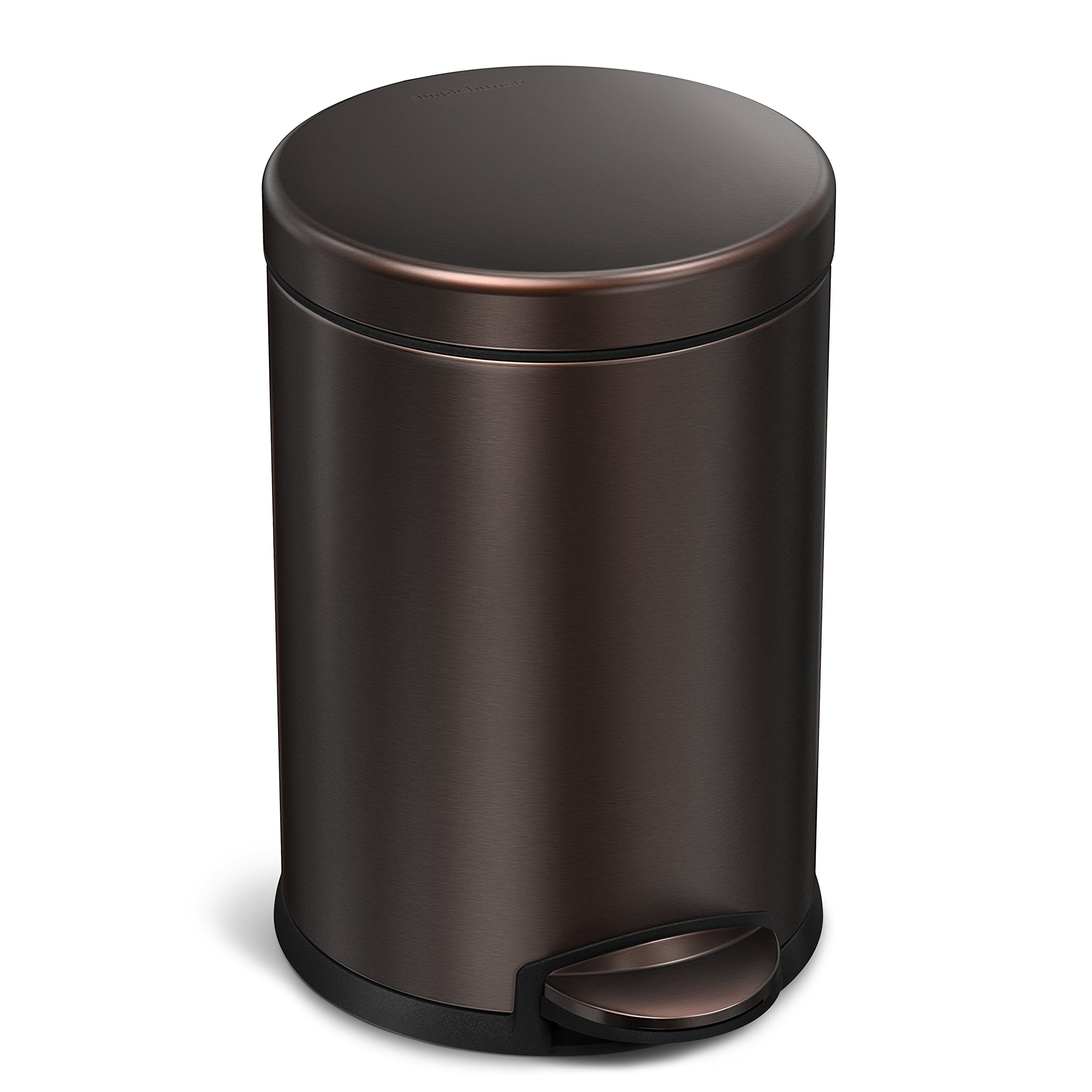 best oil rubbed bronze trash cans for bathroom amazon com rh amazon com