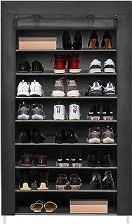 Meerveil Armoire à Chaussures Etagères de Rangement Armoire en Tissus Rangement de Chaussures Étanche Étagères à Chaussure...