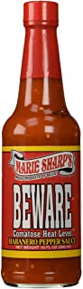 """Marie Sharp""""s – """"Beware"""" Habanero Pepper Sauce – 296ml"""