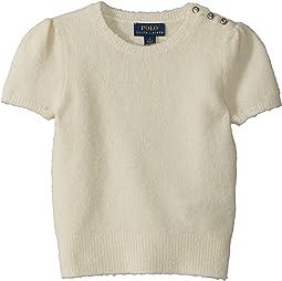 Polo Ralph Lauren Kids - Short Sleeve Party Sweater (Little Kids)