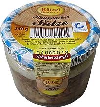 Sülze im Glas 250g - Hausmacher Schweinesülze - leckerer Brotaufstrich - Kochwurstspezialität mit Fleisch in Gelee WF-18145