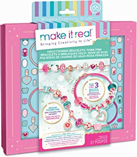 Make It Real Halo Charms Bracelets Think Pink 1722