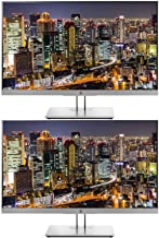 HP EliteDisplay E243 23.8 Inch IPS LED Backlit Monitor 2-Pack, FHD 1920 x 1080 (1FH47A8#ABA)