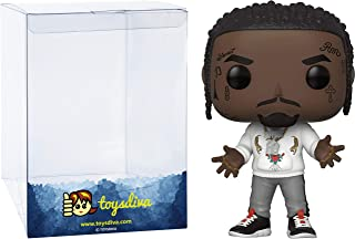 Offset: Funk o Pop! Rocks Vinyl Figure Bundle with 1 Compatible 'ToysDiva' Graphic Protector (108 - 37849 - B)
