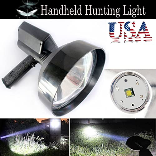 2021 7 Inch LED Handheld 2021 Spotlight Camping Hunting Hiking Shooting high quality High Power Lamp 2500LM 6000K with Charger - 2 Year Warranty online