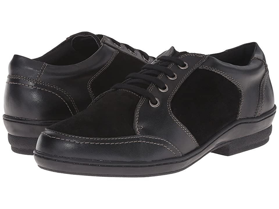 David Tate Helen (Black Soft Calf/Suede) Women