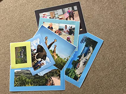 Your Photo On Box Canvas  A1 32 x 20 INCH Personalised Picture *READY TO HANG*