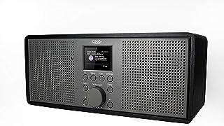 Xoro DAB 700 IR WLAN Internet Radio (DAB+, Spotify Connect, BT 4.0, kleurendisplay, 2x10 Watt, wekfunctie, 12V =) zwart